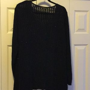 Dana Buchman Black sequined Sweater